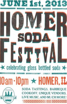 Homer Soda Fest Poster, repinned from another pinner :)