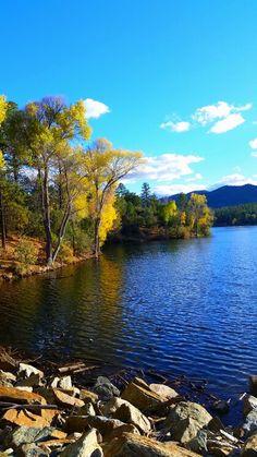 Lynx Lake Prescott, AZ ☆ By Amanda Arkell Arizona Travel, Arizona Usa, Arizona Trip, Water Pictures, Water Pics, Places To Travel, Places To Visit, Prescott Arizona, Road Trip Adventure