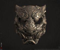 ArtStation - Melita's Tiger mask, Zhelong XU Mais