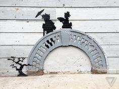 Where is Banksy's New York art now? Spiked http://www.theverge.com/2013/11/29/5156950/where-is-banksys-new-york-art-now