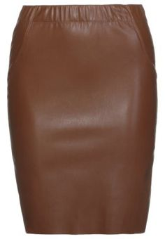 JUDY BUTTER - Jupe crayon - chocolate chip