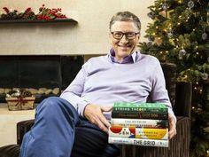 Bill Gates recomenda os 5 livros que mais gostou de ler em 2016, na lista, co-fundador da Microsoft explica por que cada obra é especial. Entre os títulos, David Foster Wallace e Archie Brown. http://www.blogpc.net.br/2016/12/Os-5-livros-que-Bill-Gates-mais-gostou-de-ler-em-2016.html #BillGates #literatura