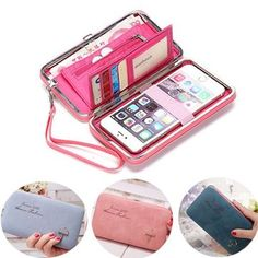Hot-sale RFID Antimagnetic Genuine Leather 11 Colors 11 Card Slots Card Holder Purse - NewChic Mobile.