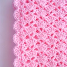 PDF Pattern Crocheted Baby Afghan CAR SEAT