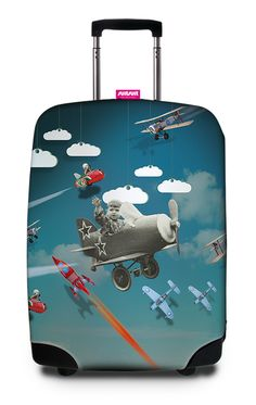 Your Online Travel News Luggage Accessories, Luggage Cover, Online Travel, Tin Toys, Travel News, Suitcase, Retro, Wheels, Traveling