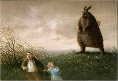 """Three postcards from Edition Inkognito: """"Frohe Ostern"""" by Michael Sowa, perhaps the most frightening Easter postcard of all time. """"Katzenversammlung"""" by Quint Buchholz """"Katze/Armbinde"""" by Michael Sowa Michael Sowa, Art And Illustration, Wilhelm Busch Museum, Lapin Art, Art Fantaisiste, Es Der Clown, Bunny Art, Inspiration Art, Claude Monet"""