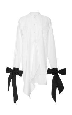 J.W.Anderson Contrast Cuff Shirt Dress