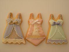 Lingerie cookies by Cbonbon cookie, via Flickr