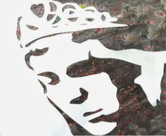 In Ms. Sudkamp's Art 1 classes we have been working on stenciled self portraits. After painting our background images (based off of non-obj...