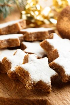 Cinnamon stars: simple recipe for the advent classic – recipes – bildderfrau.de Cinnamon stars: simple recipe for the advent classic – recipes – bildderfrau. Healthy Holiday Recipes, Holiday Desserts, Baking Recipes, Dessert Recipes, Recipes Dinner, Desserts Ostern, Easter Recipes, Christmas Baking, Christmas Christmas