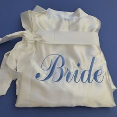 Wedding Robes  Bridesmaid Gifts  SATIN Bridal by WeddingsEtcetera