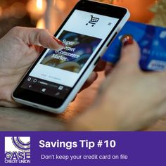 Case financial tip 16 start a side business diversify your income 2018 case savings tip 10 remove your saved credit card information from online retail websites when youre tempted to buy something the extra step of reheart Choice Image