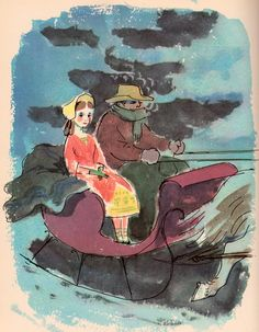 The Rainbow Book of American Folk Tales and Legends - by Maria Leach, illustrated by Marc Simont (1958).