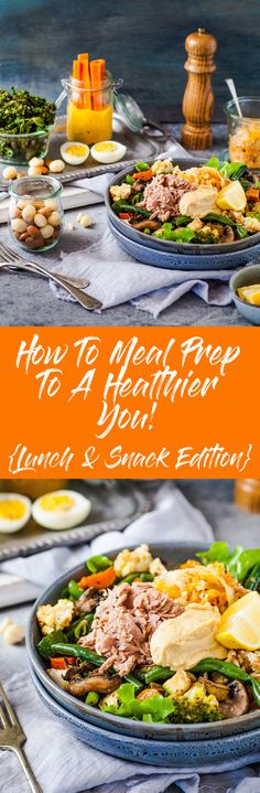 Lunch Edition: How To Meal Prep Your Way To A Healthier You + Free Printable — The Whimsical Wife Easy Meal Prep, Healthy Meal Prep, Healthy Snacks, Healthy Eating, Vegetarian Recipes, Healthy Recipes, Baking Recipes, New Zealand Food, Australian Food