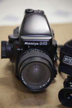 Mamiya 645 Pro TL Medium Format SLR Film Camera with 55mm Lens Kit