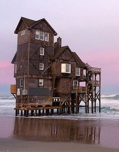 The foolish man built his house upon the sand, but boy did it look good.