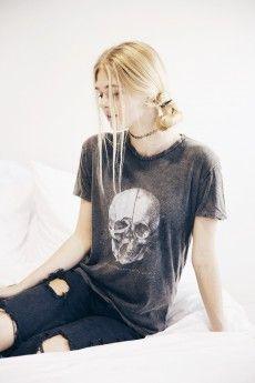 Nikola Human Skull Top