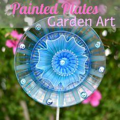 garden glass :: FunkyJunk Interiors - Donna's clipboard on Hometalk :: Hometalk