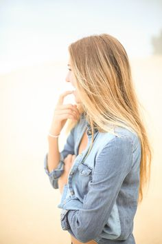 Ombre. My hair right now! I am loving this for the winter