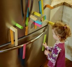 Our Favorite Toys from Fun at Home with Kids--Tegu blocks