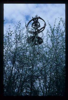 Wind turbine, near Parkminster Monastery, Cowfold, West Sussex,in about 1964.