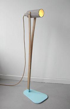 modern lighting Claude Saos plastolux lamp