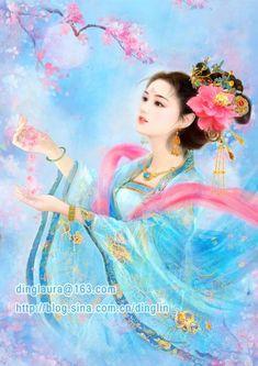 japanese fantasy art | Chase The Moon by dinglaura.deviantart.com on @deviantART
