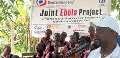 Die Ebola-Epidemie ist noch nicht vorbei. Neun unserer Bündnismitglieder starteten ein Gemeinschaftsprojekt, um ein erneutes Aufflammen der Epidemie zu verhindern.