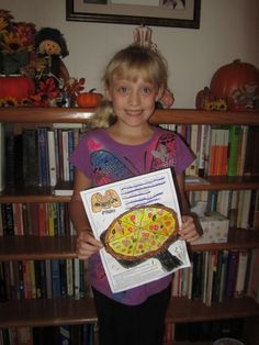 Congratulations to Sarah, who is this October 23rd's winner of our National Pizza Month Coloring Contest and the recipient of a $250 Marco's Pizza gift card!