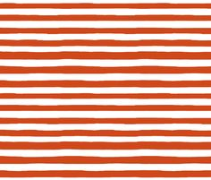 persimmon stripes fabric by cait88 on Spoonflower - custom fabric