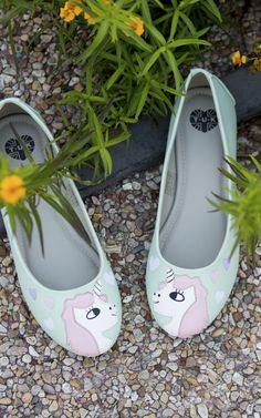 TUK Unicorn flats. TUK shoes are the best.