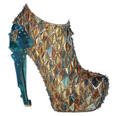 Looks like one of the Dinosaurs from Dragon tales threw up onto a shoe..