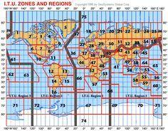 Ham radio call map by yaesu ham radio pinterest ham radio itu zones gumiabroncs Choice Image