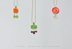 'cini minis' www. Cini Minis, Mini S, Pendant Necklace, Jewels, How To Make, Color, Jewerly, Colour, Gemstones