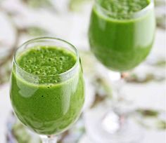 Green tea green smoothie