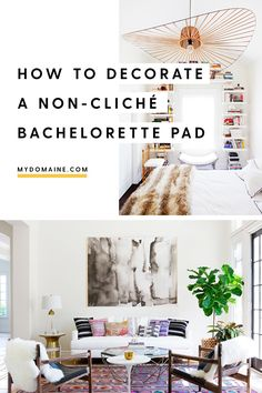 How to decorate for one, according to a single girl: