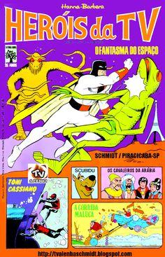 HERÓIS DA TV - HANNA-BARBERA Nº 04 / EDITORA ABRIL