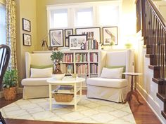 library room - what a cozy space