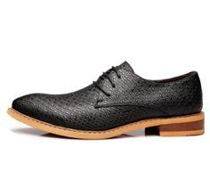 Men's Sleek Cow-Split Shoes