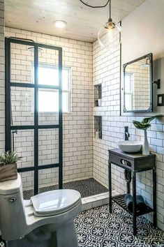 105 genius tiny house bathroom shower design ideas