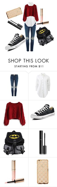 """ # 3"" by isabellafdz ❤ liked on Polyvore featuring Frame Denim, rag & bone, Chicwish, Converse, Chanel, By Terry, women's clothing, women's fashion, women and female"