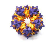 Origami Structure of 570 triangular units