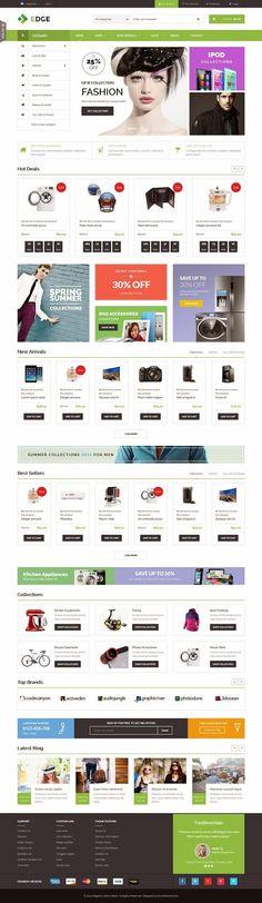 ET Edge Responsive Multipurpose Magento Theme 2015