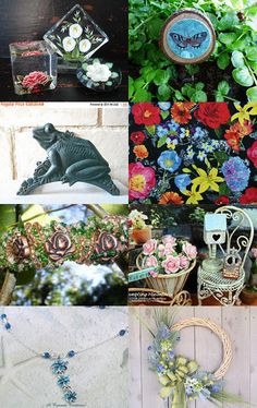 Gardener's Dreams -- Tempt Team by Maile Baldwin on Etsy--Pinned+with+TreasuryPin.com