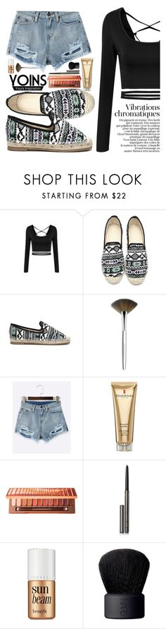 """""""YOINS 12/4"""" by tamsy13 ❤ liked on Polyvore featuring Trish McEvoy, Elizabeth Arden, Urban Decay, Burberry, Benefit, NARS Cosmetics, yoins, yoinscollection and loveyoins"""