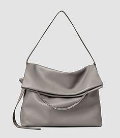 ALLSAINTS Lafayette Large Shoulder Bag. #allsaints #bags #shoulder bags #hand bags #leather #