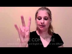 Learn 17 different basic phrases in ASL and after learning these signs, practice your skills with a receptive and expressive test immediately following.