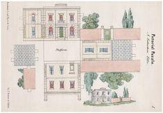 victorian suburban villa to make from Open House Miniatures