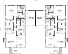 Fordyce Crest Multi-Family Home Plan 055D-0369 | House Plans and More