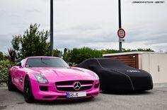 I like it....Pink Mercedes!